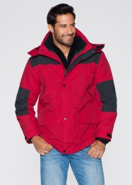 3-in-1-Jacke Regular Fit, bpc bonprix collection, rot