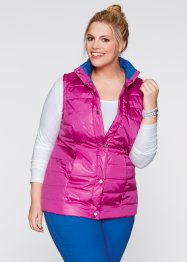 Weste, bpc bonprix collection, fuchsia/azurblau