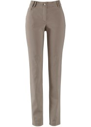 Schmale Bengalin-5-Pocket-Hose, bpc bonprix collection, taupe
