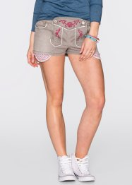 Trachten-Shorts, RAINBOW, light grey denim