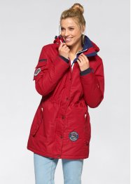 3in1-Funktions-Outdoorjacke, bpc bonprix collection, dunkelrot