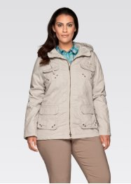 Jacke, bpc bonprix collection, silber