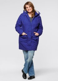 Parka, bpc bonprix collection, saphirblau