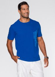 T-Shirt, Regular Fit, bpc bonprix collection, azurblau