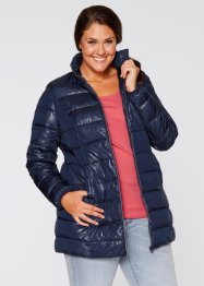 Long-Steppjacke, bpc bonprix collection, dunkelblau