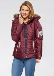 Outdoorsteppjacke, bpc bonprix collection, ahornrot
