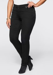Megastretch-Jeans, bpc selection, black stone