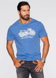 T-Shirt Regular Fit, John Baner JEANSWEAR, dunkeloliv