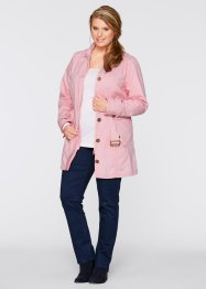 Trenchcoat, bpc bonprix collection, puderrosa