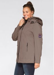 Stretch-Softshelljacke, bpc bonprix collection, taupe