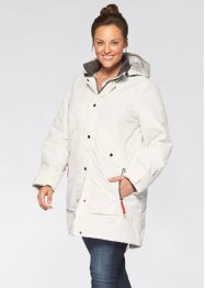 Outdoor-Langjacke, bpc bonprix collection, wollweiss
