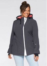 Softshell-Jacke, bpc bonprix collection, schiefergrau