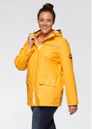 Regen-Jacke, bpc bonprix collection, sonnengelb