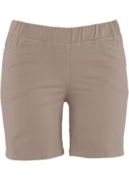 Shorts mit Elastik-Bund, bpc bonprix collection, taupe
