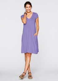 Shirt-Kleid, bpc bonprix collection, weiss
