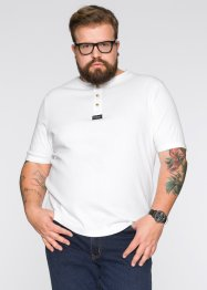 T-Shirt Regular Fit, John Baner JEANSWEAR, weiss