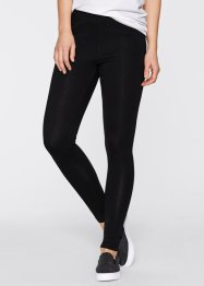 Stretch-Leggings, bpc bonprix collection, weiß+schwarz
