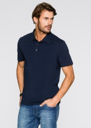 Stretch-Poloshirt Slim Fit, bpc bonprix collection, weiss