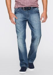 Jeans in Loose Fit Straight, John Baner JEANSWEAR, blau