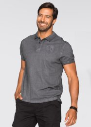 Poloshirt Regular Fit, bpc selection, weiss