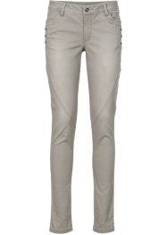 Stretchhose, BODYFLIRT, taupe washed