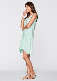 Flammgarn-Shirtkleid, bpc bonprix collection, hellmint