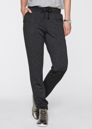 Heavy-Jersey Joggpant, bpc bonprix collection, indigo meliert