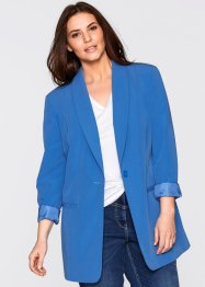 Long-Blazer, bpc bonprix collection, gletscherblau