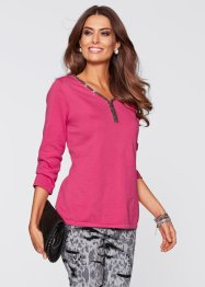 Pullover aus Pima Cotton, bpc selection premium, medium pink