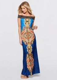 Maxikleid, BODYFLIRT boutique, blau multi
