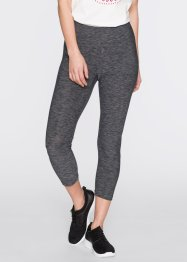 Leggings, bpc bonprix collection, grau meliert