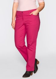 Stretchhose, bpc bonprix collection, dunkelpink