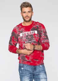 Pullover Slim Fit, RAINBOW, rot