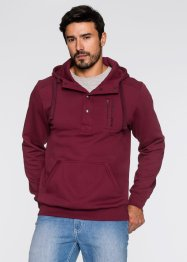 Sweatshirt mit Kapuze Regular Fit, John Baner JEANSWEAR, bordeaux