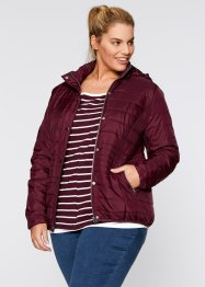Wattierte Steppjacke, bpc bonprix collection, ahornrot
