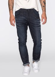 Jeans Regular Fit Tapered, RAINBOW, darkblue used