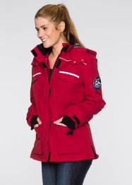 Funktions-Outdoor-Jacke, bpc bonprix collection, dunkelrot
