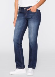 "Stretch-Jeans ""Passformwunder"" Straight Fit, John Baner JEANSWEAR, dunkelblau"