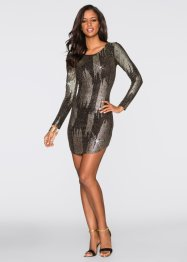 Abendkleid, BODYFLIRT boutique, schwarz/gold