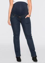 Umstandsjeans, Mini-Bootcut, bpc bonprix collection, dark denim