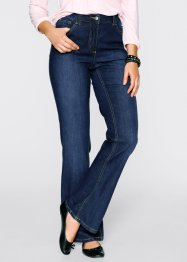 Stretch-Jeans im Bootcut, bpc bonprix collection, dark denim