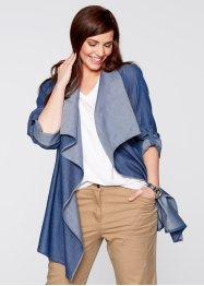 Leichte Jacke im Jeans-Look, bpc bonprix collection, blue stone
