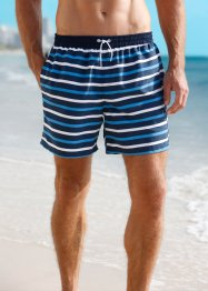 Badeshorts Herren, bpc bonprix collection, blau