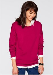 Sweatshirt, bpc bonprix collection, indigo