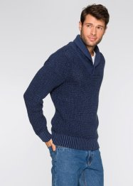Pullover Regular Fit, bpc bonprix collection, dunkelblau