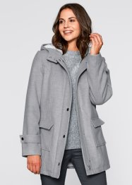 Jacke mit Teddyfutter, bpc bonprix collection, zartrosa
