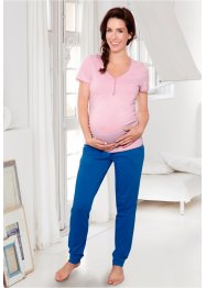 Still-Pyjama, bpc bonprix collection, rosa/azurblau