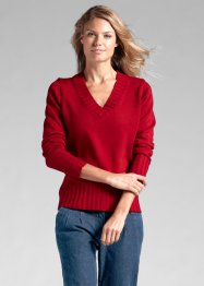 V-Pullover, bpc bonprix collection, chillirot