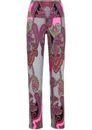 Jerseyhose, BODYFLIRT boutique, rot multi