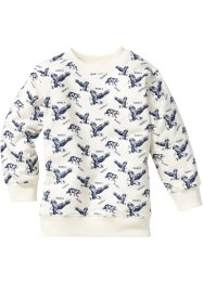Sweatshirt, bpc bonprix collection, cremeweiss bedruckt